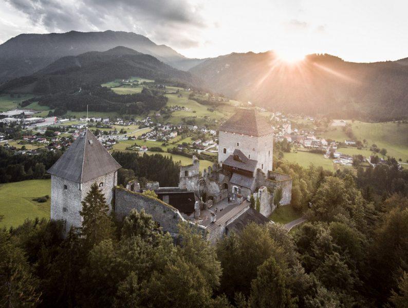 Burg Gallenstein im Naturpark Eisenwurzen
