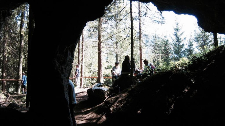 Ganser Grotto
