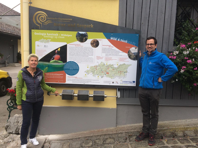 Interreg Danube GeoTour: Entdecken des Natur- und Geoparks leicht gemacht