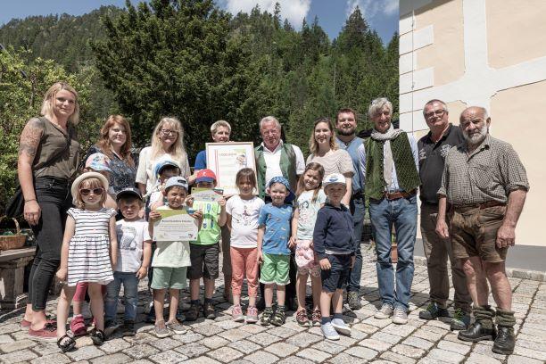 1. Naturpark-Kindergarten im Natur- und Geopark Steirische Eisenwurzen