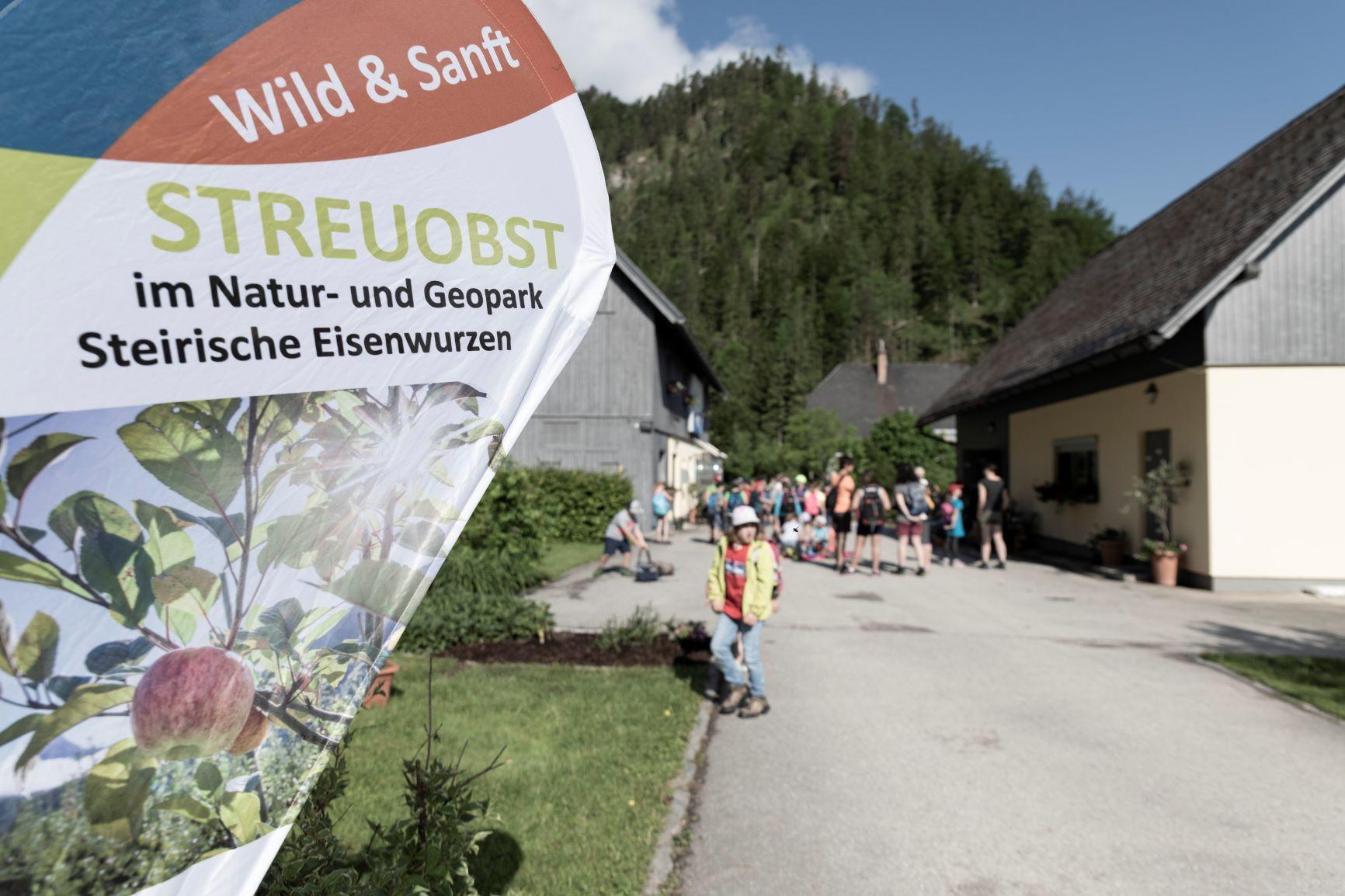 Generationsübergreifender Aktionstag in der Naturparkgemeinde Wildalpen