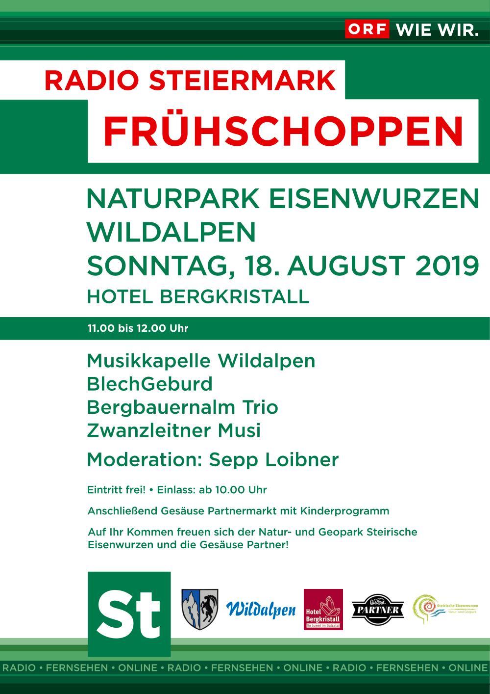 Naturparkfest mit ORF Radio Steiermark Frühschoppen