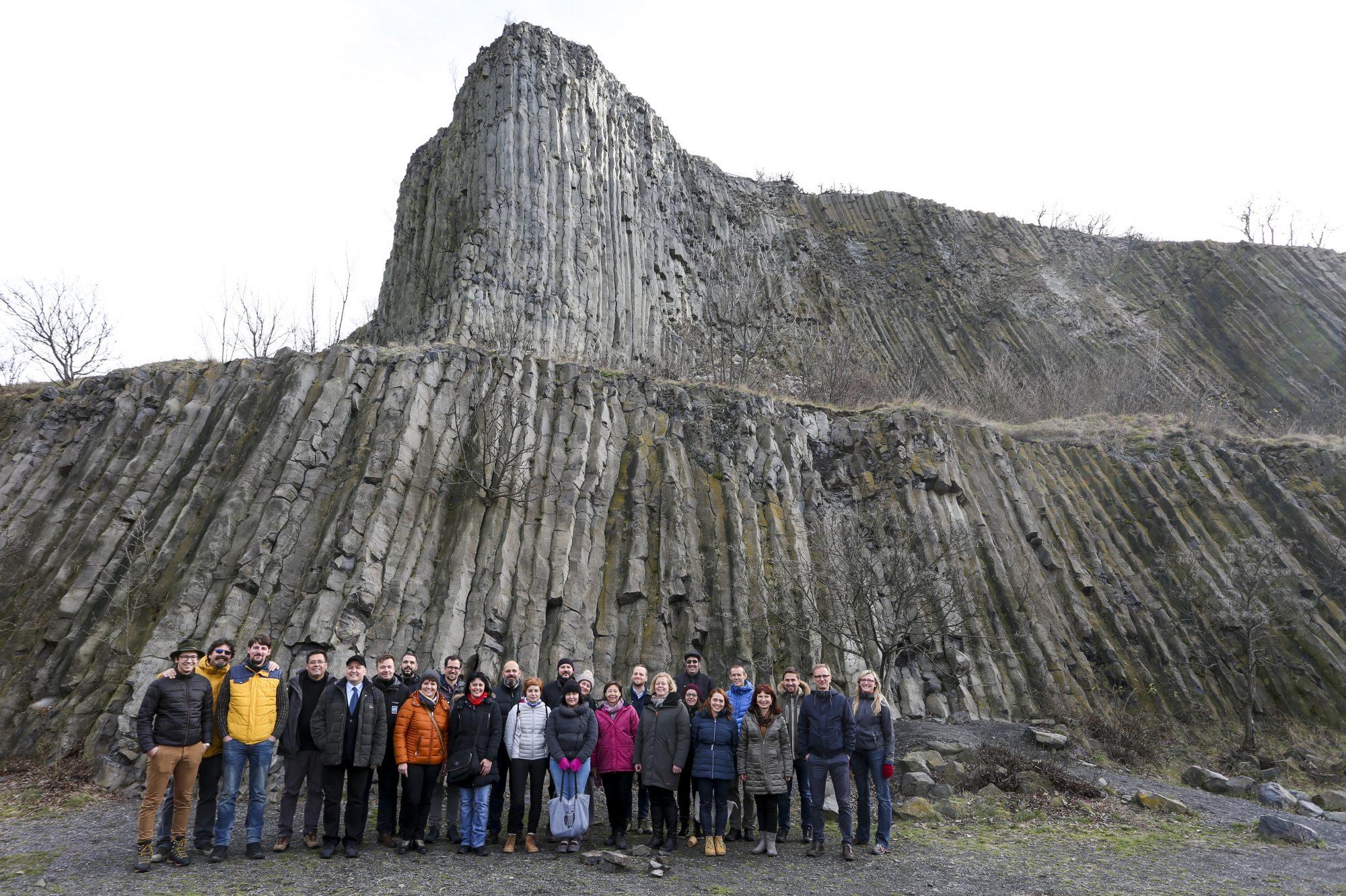 Abschlussveranstaltung Interreg Danube GeoTour im Bakony-Balaton UNESCO Global Geopark