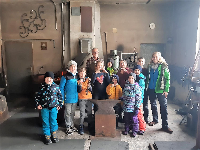 Kinderkunstschmiede – Wintererlebnistag