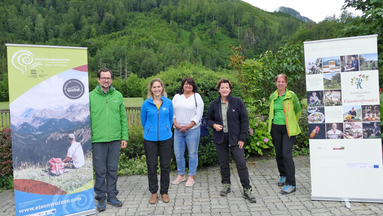 Landesrätin Ursula Lackner zu Besuch im Natur- und Geopark Steirische Eisenwurzen