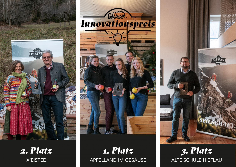 """Die beste Idee der Region:  Regionaler Innovationspreis für """"Apfelland im Gesäuse"""""""